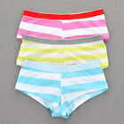 6 Pairs Women Soft Comfort Smooth Low Rise Boyshorts/Panty S M L