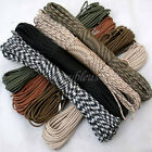 Lanyard Core 550 Paracord Parachute Cord Strand Nylon Survival Outdoor 10-100FT