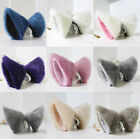 Cosplay Party's Cat Fox Long Fur Ears Anime Neko Costume Hair Clip Multi-Color