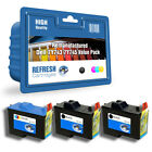 REMANUFACTURED DELL 7Y743 / 7Y745 - 3 INK CARTRIDGE EVERYDAY VALUE PACK