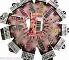 1, 5 or 10 PACKS OF PROFESSIONAL NAIL ART FOILS WRAPS STICKERS DECALS MANICURE