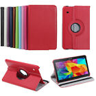 """New 360 Rotating Rotate Leather Case Stand For Samsung Galaxy Tab 4 10.1"""" T530"""
