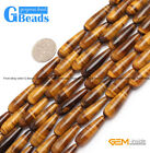 """25mm 30mm smooth & faceted drip tiger eye loose beads15 """" DIY jewelry making 2"""