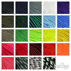 Atwood 550 Paracord Rope 100' Solid Color Hank 7-Strand Cord - Made in the USA