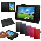 Acer Iconia One 7 (B1-730) PU Leather Flip Case Cover with Multi-Angle Stand