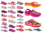 Girls Clogs Fashion Flip Flops Clog Mules Slip On Casual Holiday Summer Sandals