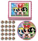 The Powerpuff Girls Edible Cake Topper Cupcake Image Decoration Birthday Party