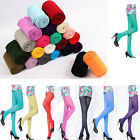80D OPAQUE PANTYHOSE Sexy Women Lady Long Candy Colors Stockings Tights Leggings