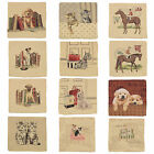 "18""x18"" Beautiful Tappestry Animal Cushion Cover - Loads Of Designs - COVER ONLY"
