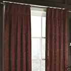 American Living COUNTESS DAMASK BOX PLEAT BACK TAB Panel Curtain