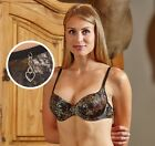 Wilderness Dreams Mossy Oak Break Up Camo Padded Bra With Heart Charm, 14 Sizes