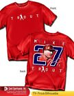 Mike Trout Los Angeles Angels Star Outfielder,  Name Number Shirt Style (MLB228) on Ebay