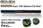RADION 13ft #9/10Wt Double Handed Salmon/Spey Fishing Rod/Reel Outfit - RRP £179