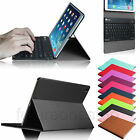 Leather Slim Case Cover Bluetooth Keyboard for Apple iPad mini 2 Retina Display
