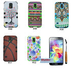 New 3 in 1 Hybrid PC Silicone Back Case Cover Skin For Samsung Galaxy S5 i9600