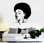 Wall Stickers Vinyl Decal Black Lady Sexy Hot Girl Hair B...