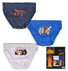 Boys Star Wars 3 Pack Kids Briefs Underwear Cotton Pants Brand New Age 2-8 Years