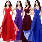 Sex Formal Long Chiffon Evening Ball Gown Cocktail Party Prom Bridesmaid Dress
