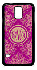 Personalized Monogram Royal Romance for Samsung Galaxy S3 S4 S5 Note 2 3 M233