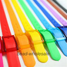 Rubber Vinyl Plastic Jelly Silicone Casual Adjustable Belt Buckle Candy Color