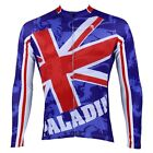 Mens Paladin Cycling Jerseys Bicycle Apparel Bike Wear Long Sleeve Clothing Hot