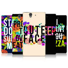 HEAD CASE DESIGNS FLOWERY STATEMENTS CASE COVER FOR SONY XPERIA Z C6603