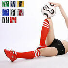 T124 Unisex Casual Breathable Sports Soccer Socks Protect Knee Socks