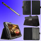 "PU Leather Folio Case Stand for 7"" inch Asus Fonepad 7 FE170CG + Pen F209U"