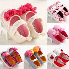 Soft bottom Sandals Infant Girls Big flower Toddler baby shoes size to 18 months