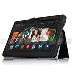 PU Leather Cover Stand Case Accessories For 2013 Amazon Kindle Fire HDX 8.9