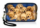 Cute Dogs Sleeve Case Bag Pouch For Apple iPod Touch,iphone,Mobile Phone +Strap