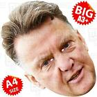 LOUIS VAN GAAL- BIG Celebrity Face Mask A3/A4 SIZE-MANCHESTER HOLLAND UNITED LVG