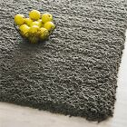 Safavieh Hand-Tufted CHARCOAL Plush Shag Area Rugs - SG140G