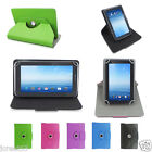 Rotating Leather Case Cover+Gift For 7 RCA RCT6077W2 / RCT6077W22 Tablet TY1HW