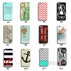 New Fashion Pretty Pattern Hard Plastic Back Case Cover Skin For iPhone 5 5G 5S