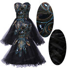 HOT SALE~Sexy Formal Short Masquerade Prom Ball Gown Cocktail Banquet Slim Dress