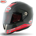 BELL STREET M6 CARBON RACE RED MOTORCYCLE MOTORBIKE BIKE HELMET