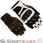 WEISE AZTEC SHORT SPORTS MCFIT COMFORT FIT LEATHER MOTORCYCLE GLOVES GHOSTBIKES