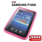 FOR SAMSUNG GALAXY TAB P1000 GT-P1000 SILICONE GEL & EXECUTIVE WALLET CASE COVER