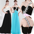 Single Strap Bridesmaid Formal Dresses Ladies Party Cocktail Evening Ball Gowns