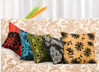 "HO UK 17""  Retro Sofa Cushion Throw Pillow Cover Case Pillowcase Pillowslip Chic"
