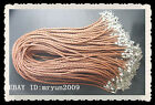 10pcs Jewelry Party Set Cord Thread Mixed ribbon voile Leather necklace cord 18""
