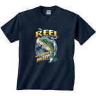 The Reel Deal Wild Freshwater Angler Shirt DISCONTINUED