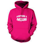 Everything Is Awesome - Unisex Hoodie / Hooded Top - Film - Movie  - 9 Colours