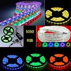 1M-20M RGB 5050 SMD Waterproof 150 / 300 LED Strip 24/44 IR Remote Power supply