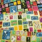 Collectors Stamps From Around The World Toss 100% Cotton Poplin Fabric