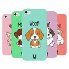 HEAD CASE HAPPY PUPPIES TPU GEL BACK CASE COVER FOR APPLE iPHONE 5