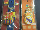 real madrid & barcelona keyrings free post to the uk spain la liga