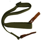 SKS Tactical Two Point Rifle Sling with Leather Strip (Three Color Options)Tactical Slings - 177901