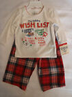 OshKosh B'gosh 2T 9 or 24 Month Christmas 2 Piece Pajama Pant Top Sleepwear NWT